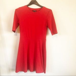 Red Topshop Dresx size 6